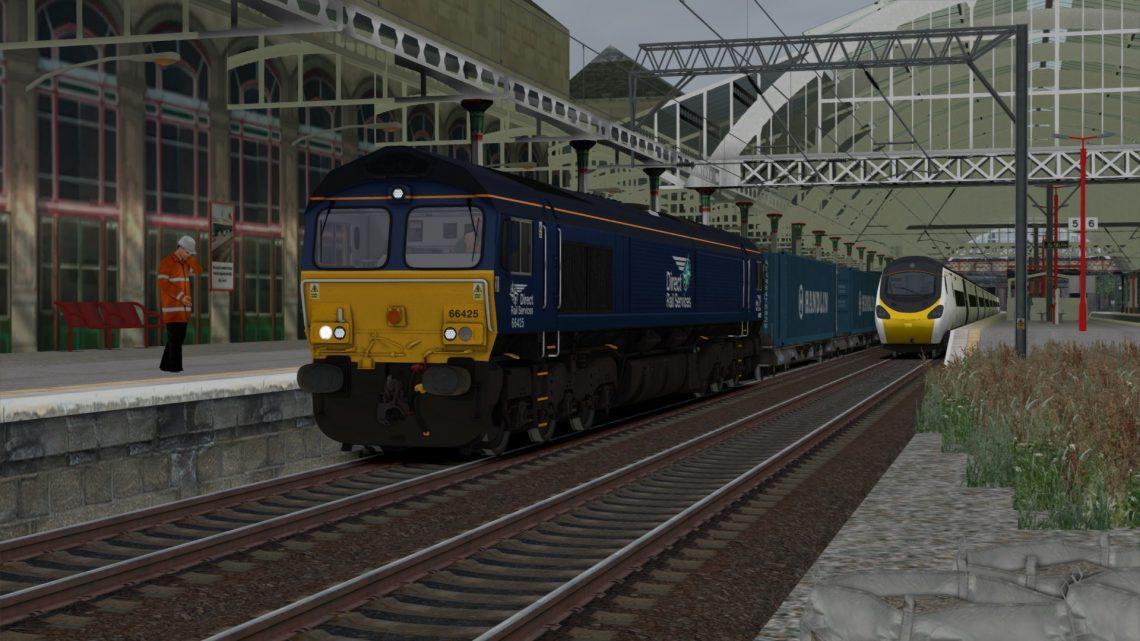 4M43 1027 Grangemouth Fpa (DRS) to Daventry DRS (Tesco)