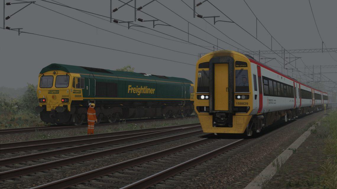 1I06 0734 Crewe & Wrexham General to Birmingham International