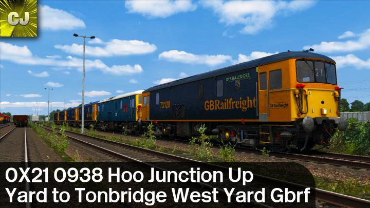 0X21 0938 Hoo Junction Up Yard to Tonbridge West Yard Gbrf