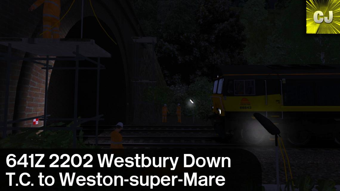 641Z 2202 Westbury Down T.C. to Weston-super-Mare