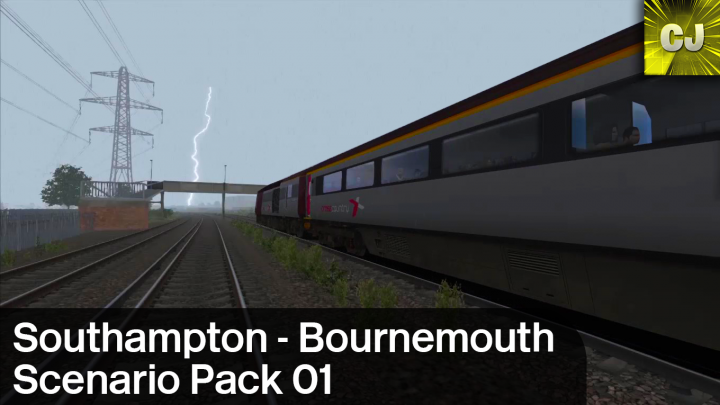 South Western Main Line – Southampton to Bournemouth Scenario Pack 01