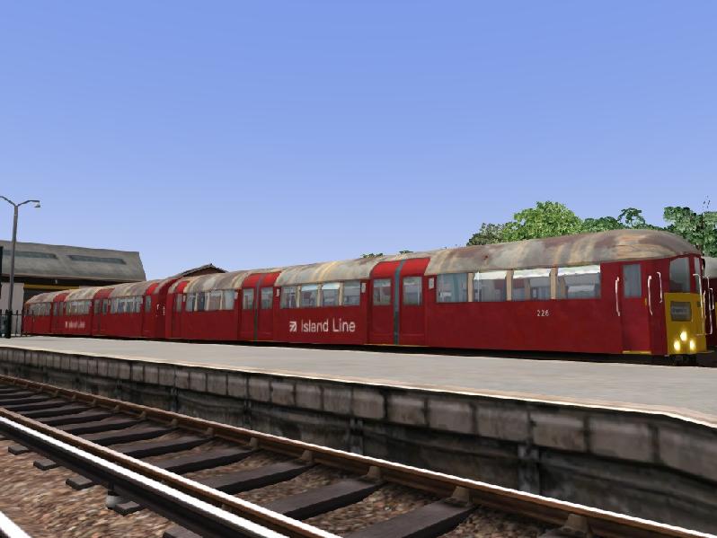 Class 483 in Island line 2020