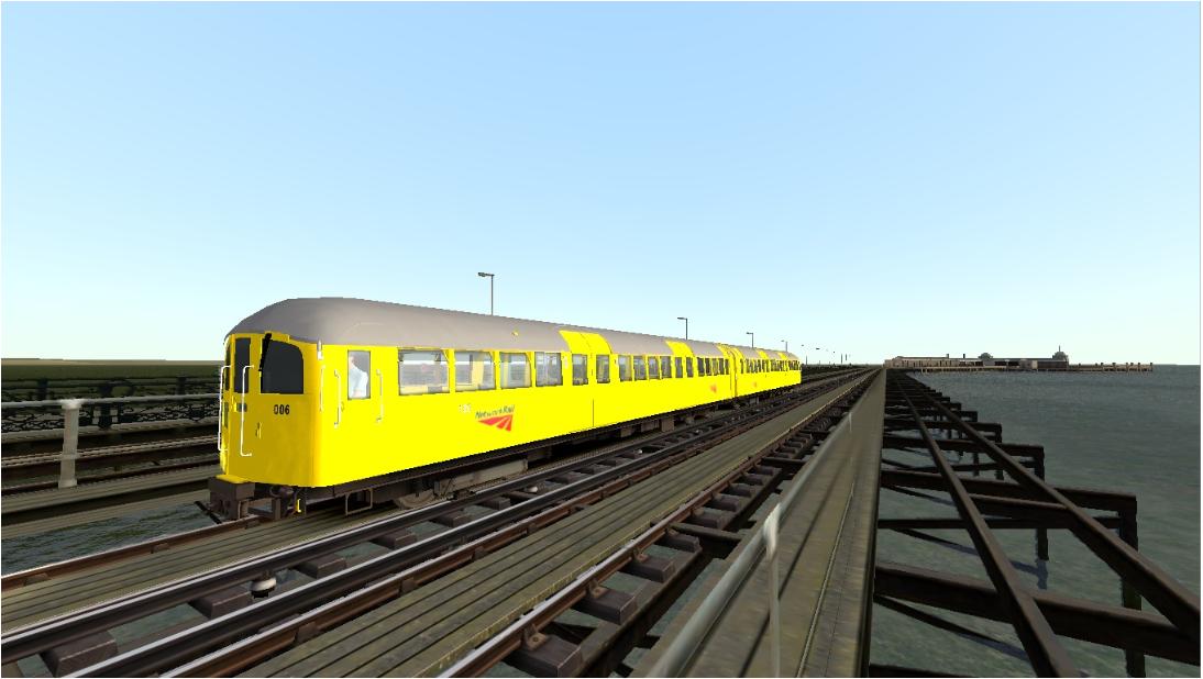 Network Rail Class 483 Test Train