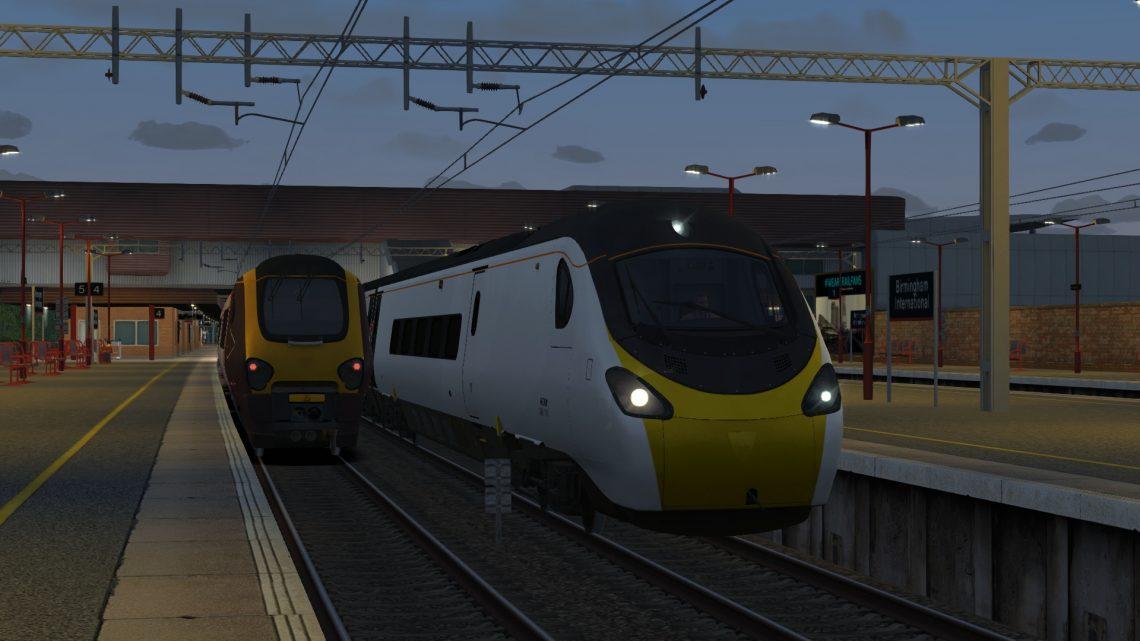 9G58 2000 London Euston – Birmingham New Street – Class 390