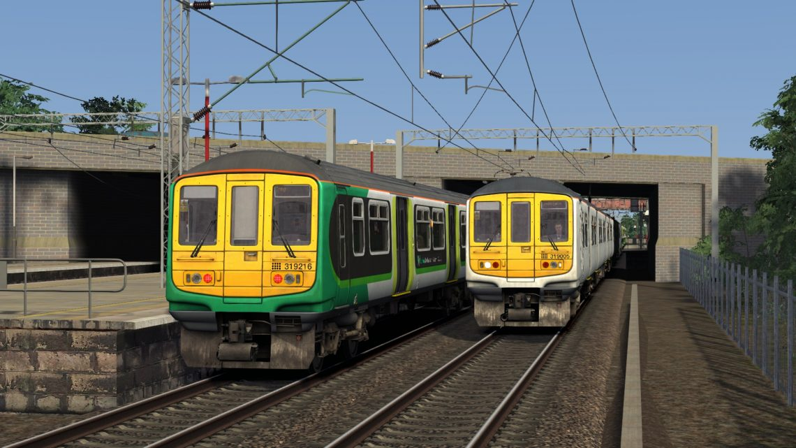 2B14 0739 Bletchley – London Euston – Class 319s