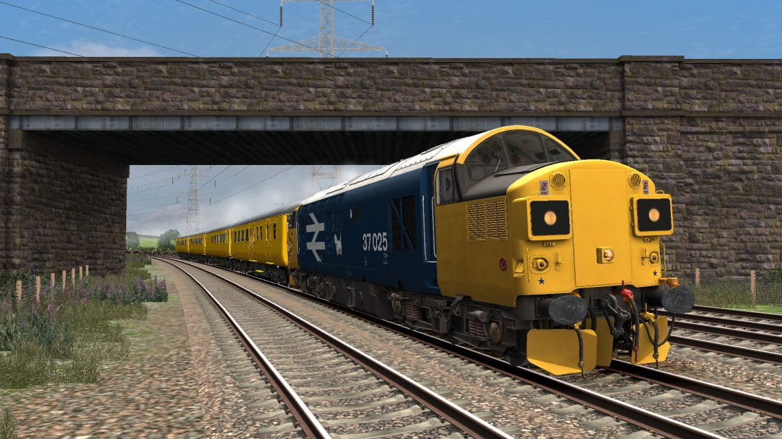 152T 0945 Derby RTC to Cardiff Canton TMD