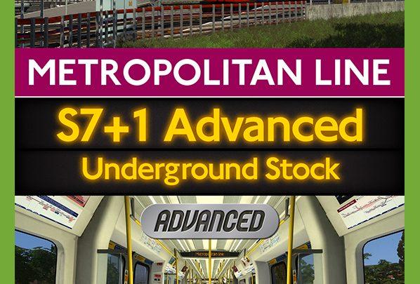 Just Trains – Metropolitan Line & S7+1 Advanced Underground Stock Bundle
