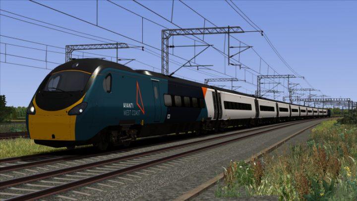Avanti West Coast Class 390 'Pendolino' (Half livery)
