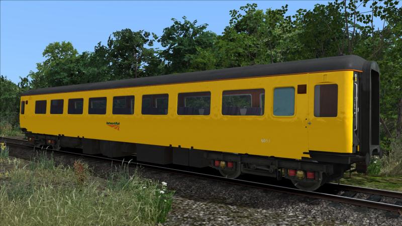 Network Rail Mk2 Coach