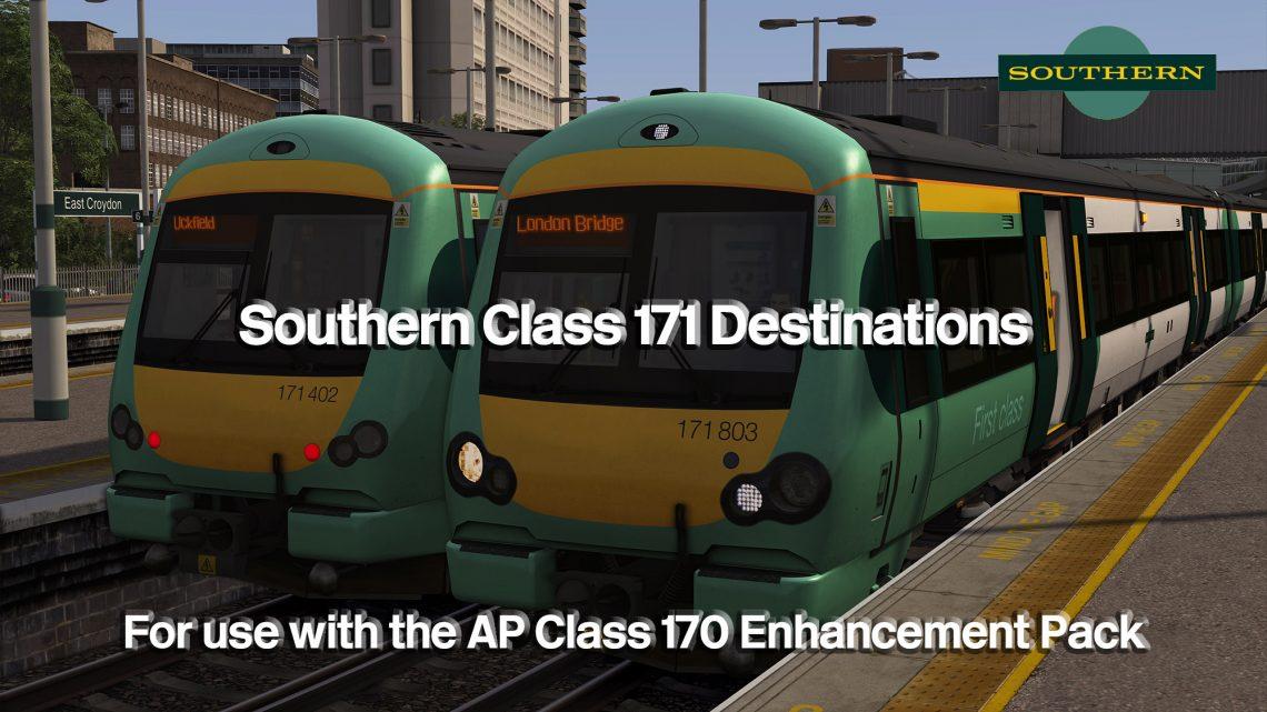 Class 171 Destinations (SN)