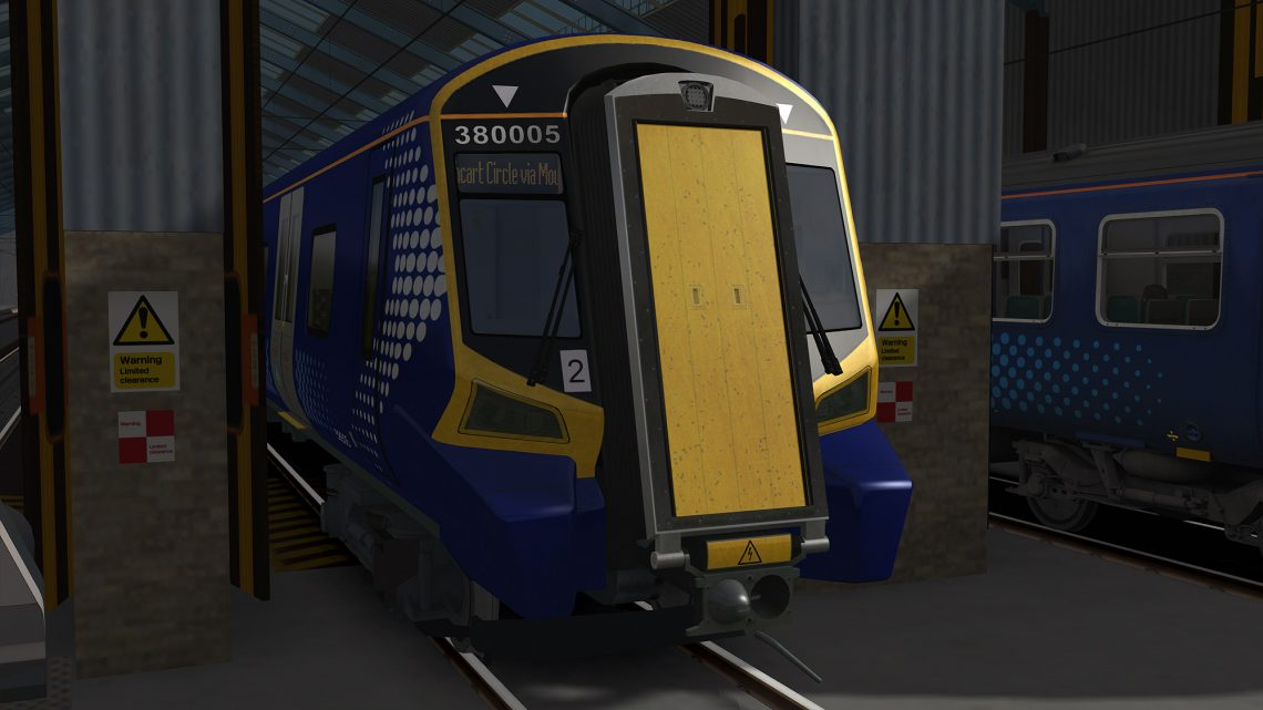 Class 380 Scotrail Destinations
