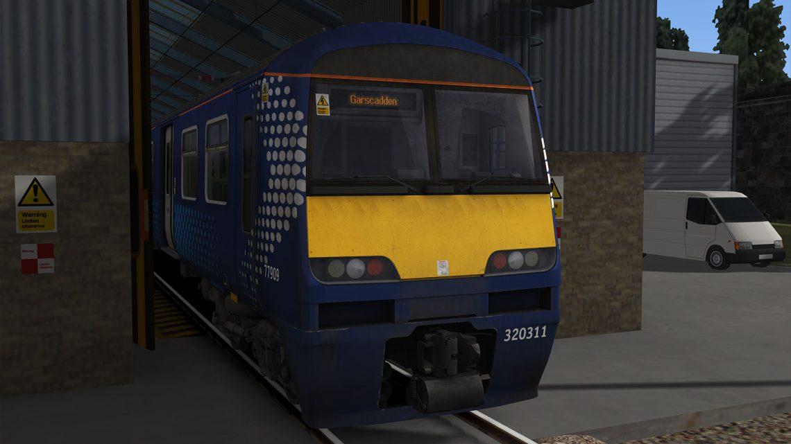 Class 320/321/322 Scotrail Destinations