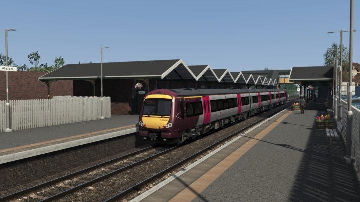 Alan Thomson Simulation  – Cambridge to Peterborough