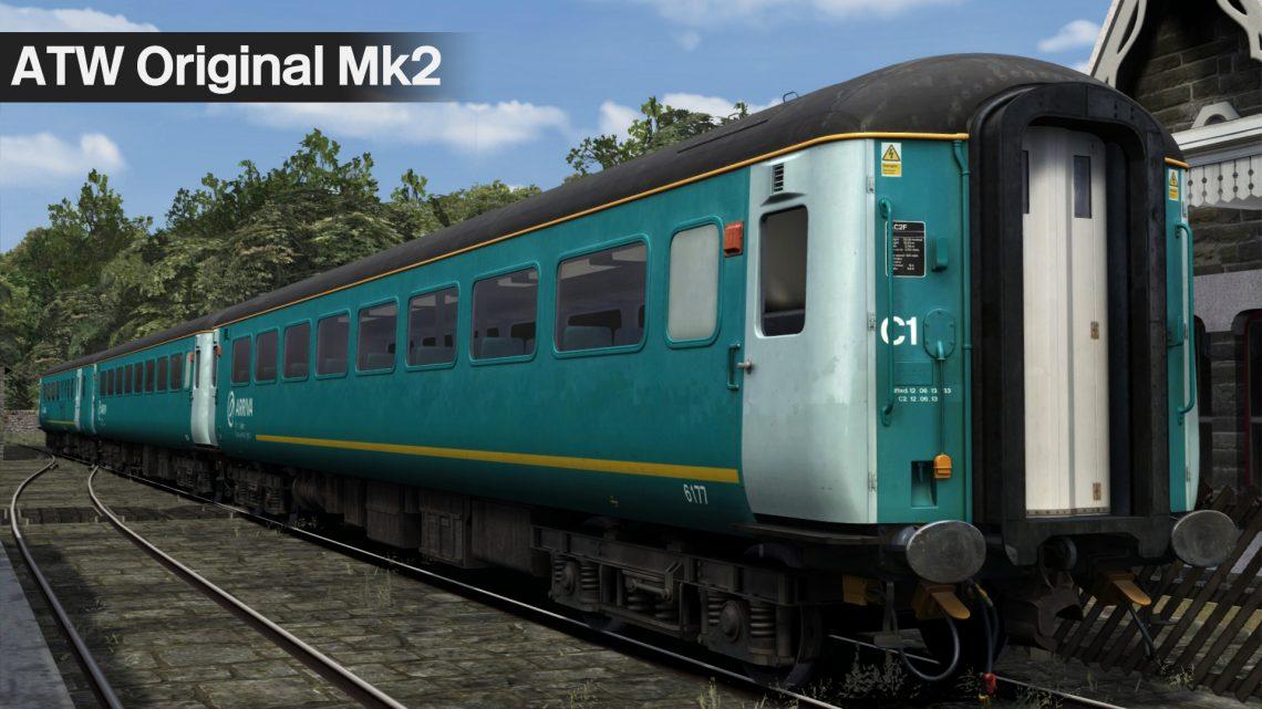 Welsh Arriva Mk2s