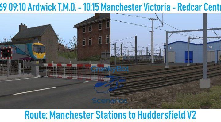 [CB] 5E69 09:10 Ardwick T.M.D. – 1P69 10:15 Manchester Victoria – Redcar Central
