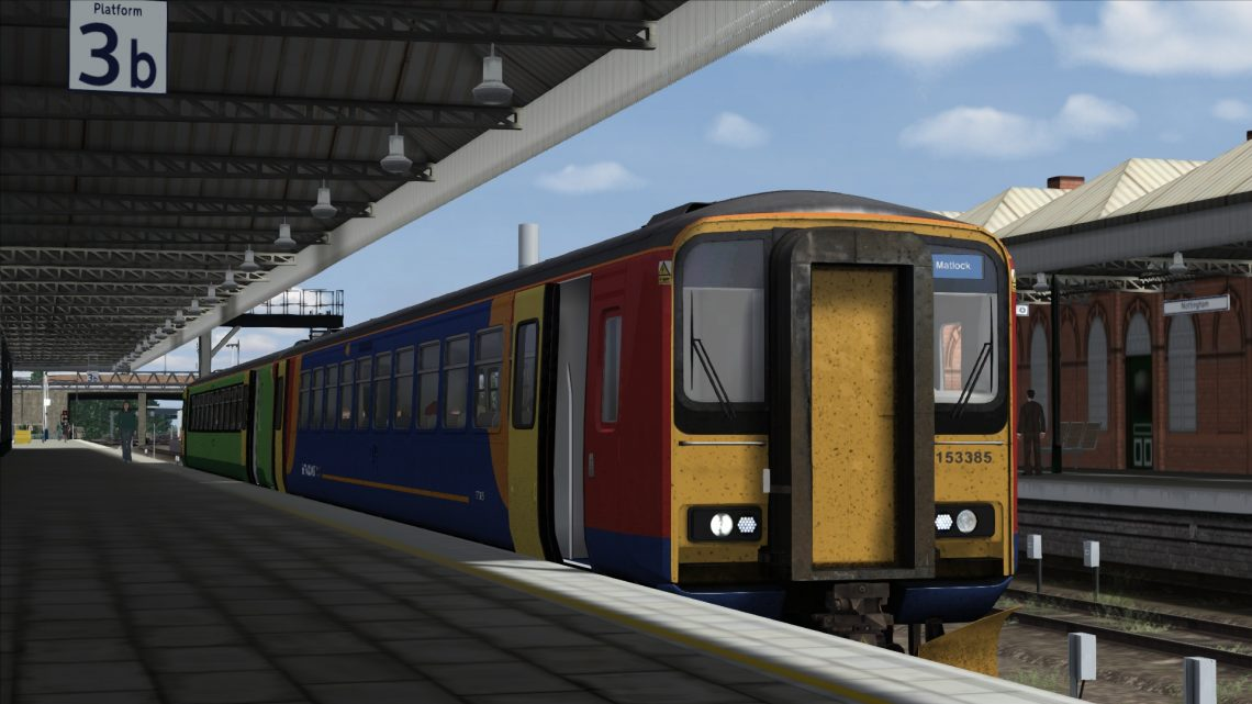 2A50 16:18 Nottingham to Matlock