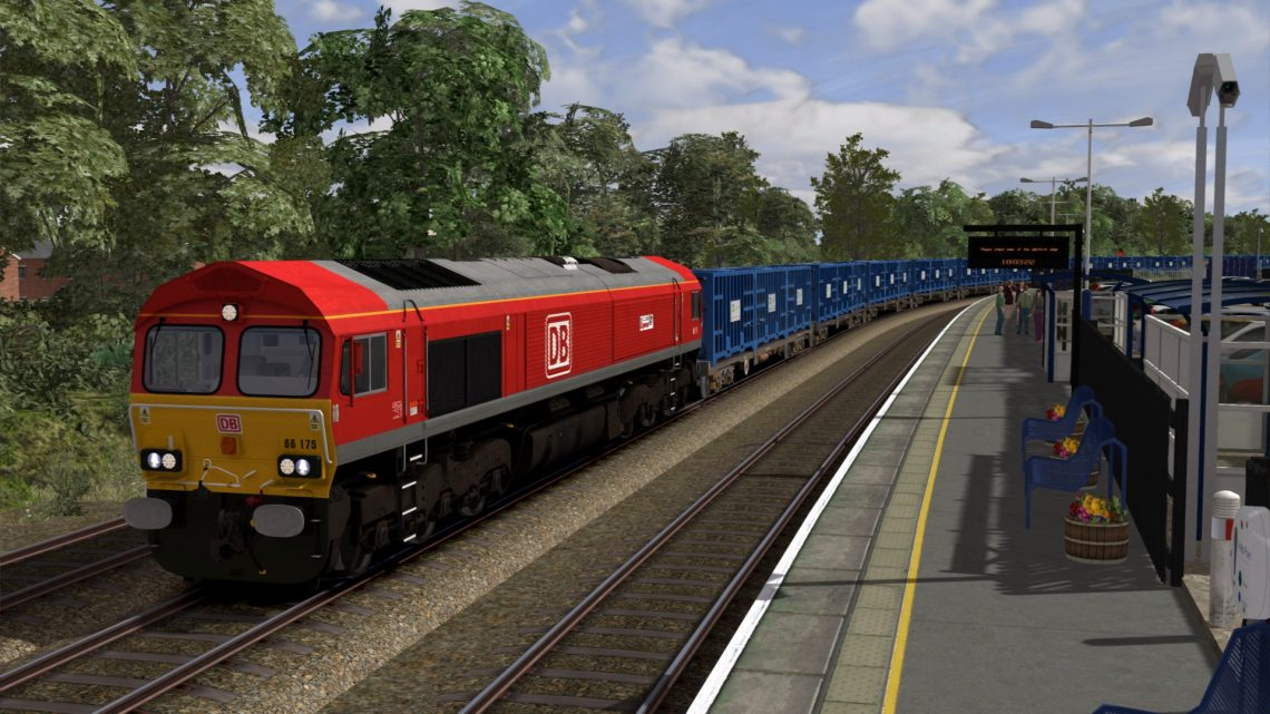 [OTS] 6M16 Tees N.Y – Knowsley Freight Terminal '66175 Rail Riders'