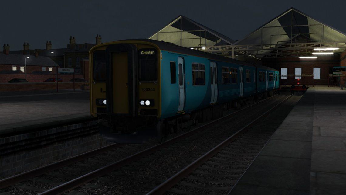 1K21 2145 Llandudno to Chester