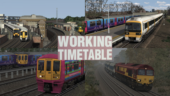 WORKING TIMETABLE SCENARIOS  SCENARIO PACK 10 CHATHAM MAIN AND MEDWAY VALLEY LINES 2010 – 2011