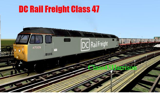 DC Rail Freight Class 47
