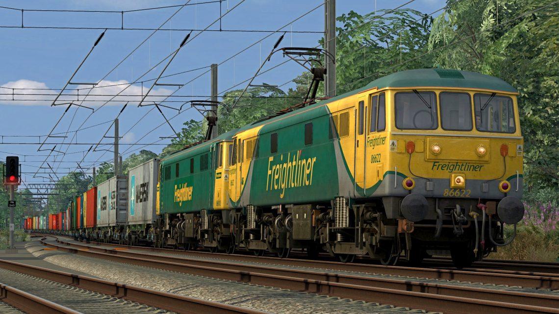 [RS] 86622/86612 – 4M74 1401 Coatbridge FLT – Crewe BH (2015)