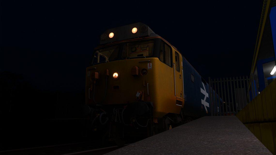 (BP) 1S19 Plymouth Glasgow Sleeper