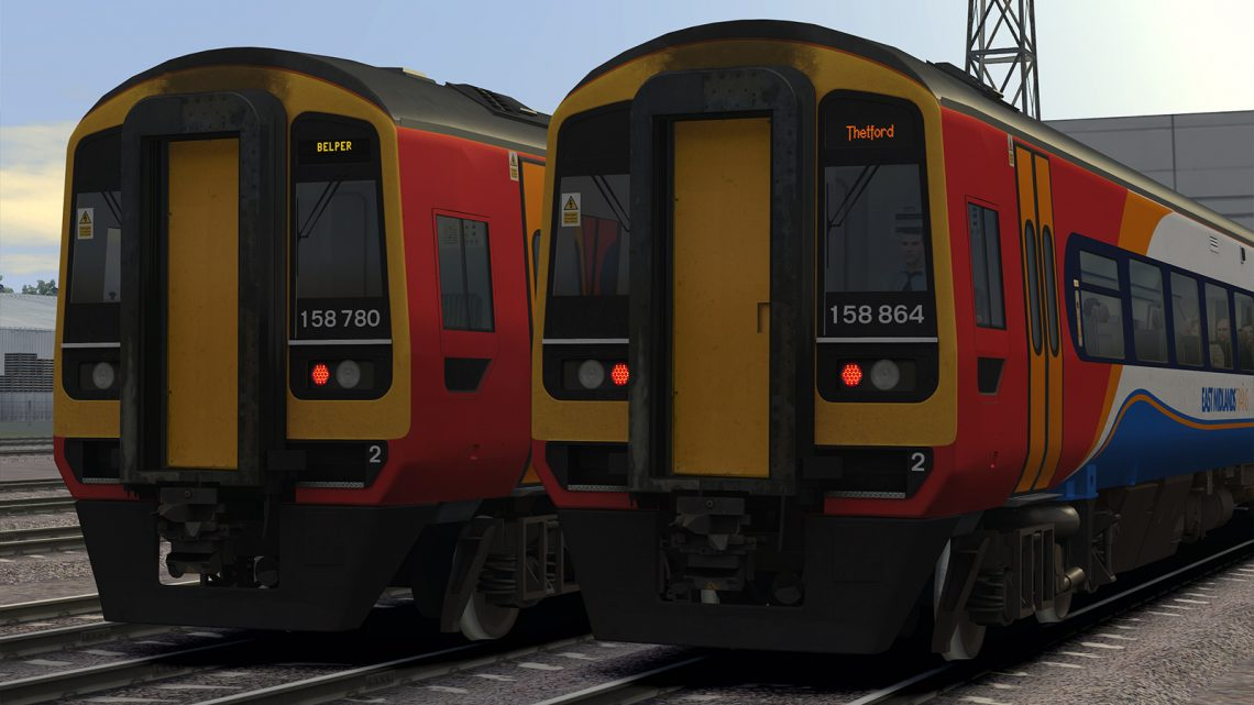 Class 158 EMT/EMR Destinations Update