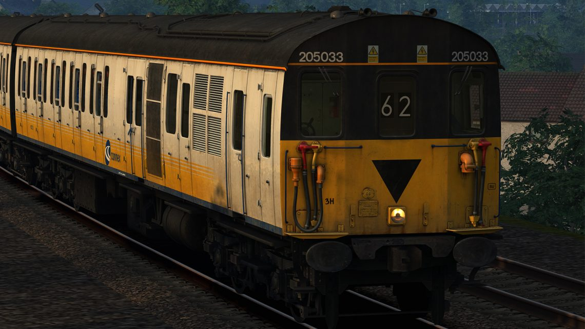 Class 205 BR font Headcode Blinds (HD)