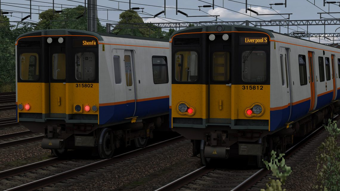 Class 315 LED Destinations Update