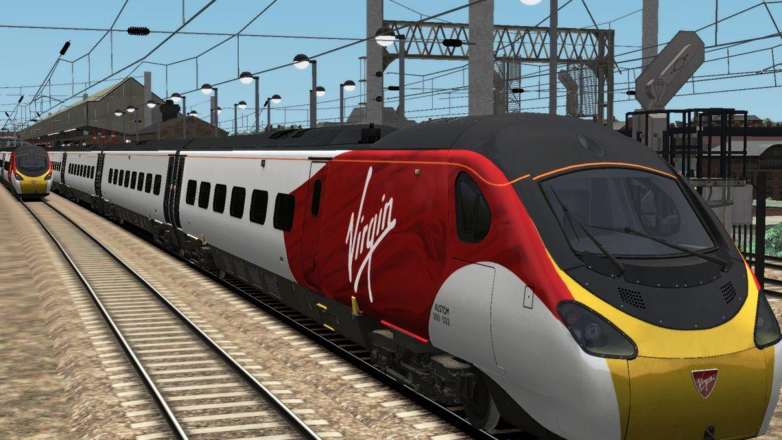 1Y52 1205 London Euston to Glasgow Central