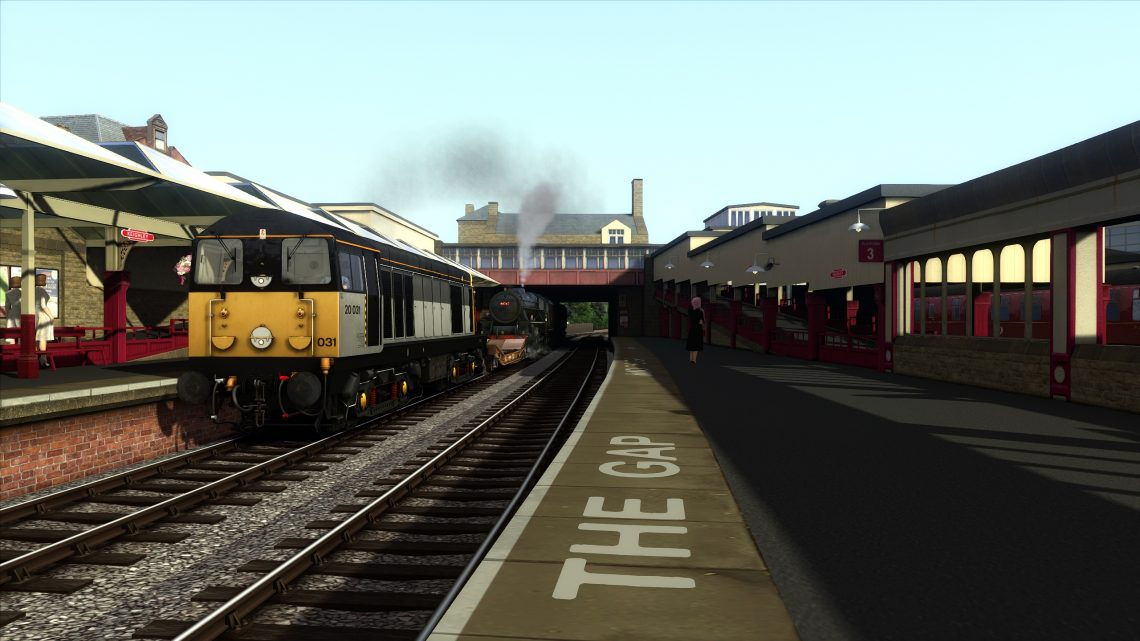 "KWVR ""works train duties"""