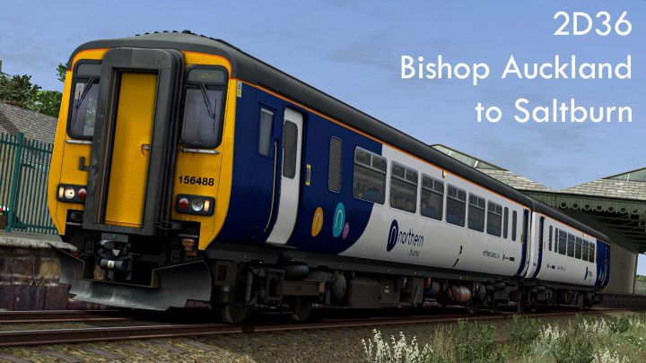 2D36 12:26 Bishop Auckland to Saltburn