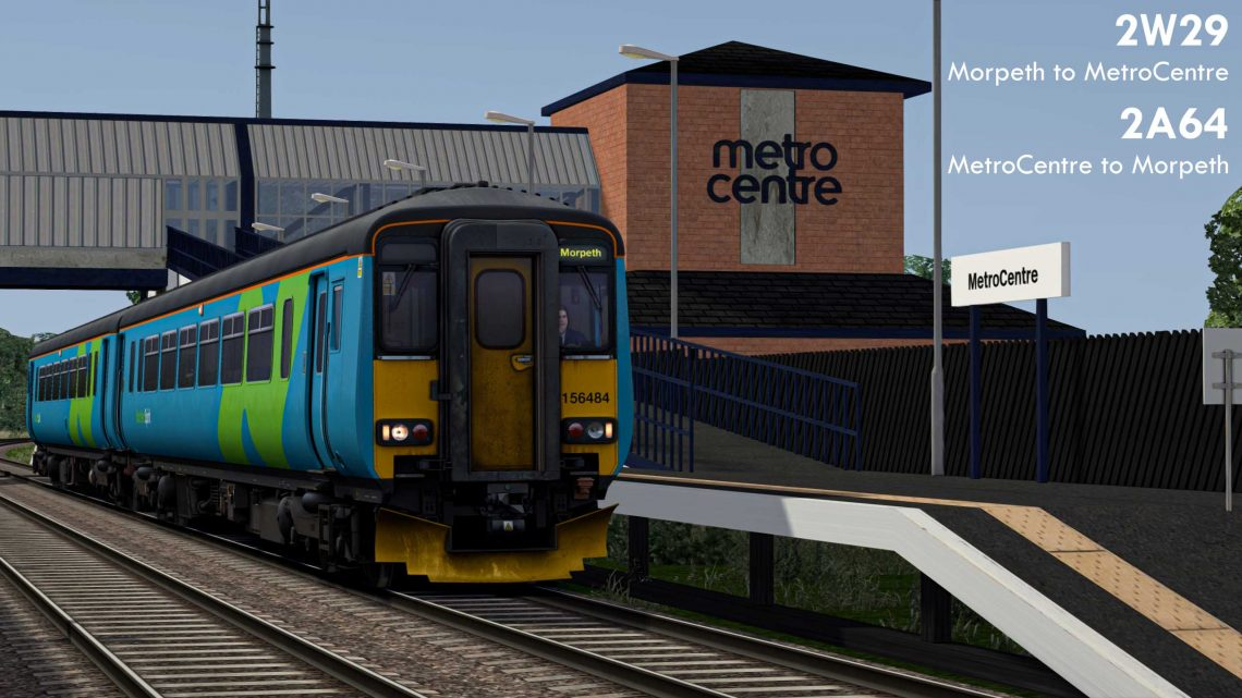 2W29 Morpeth to MetroCentre // 2A64 MetroCentre to Morpeth