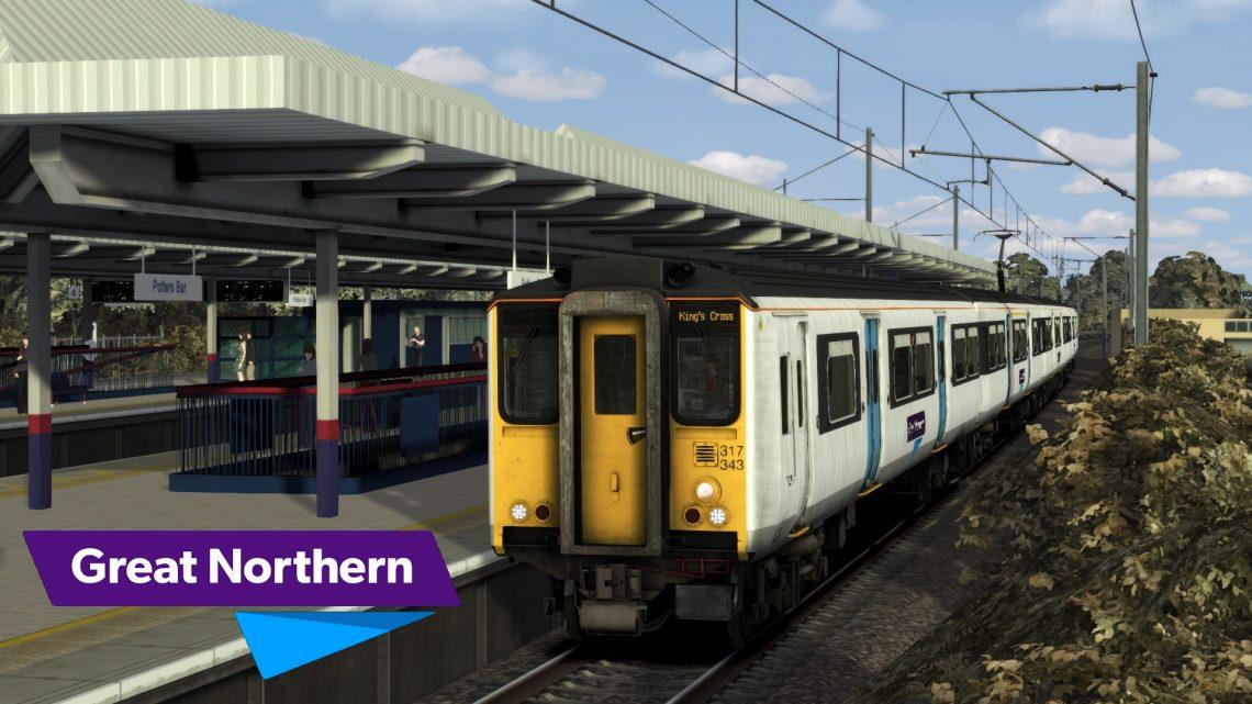 2Y87 08:44 Welwyn Garden City to London Kings Cross