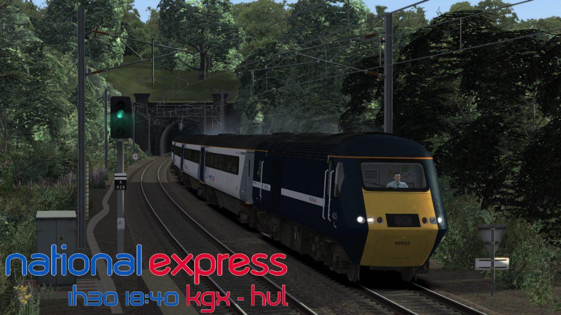 1H30 18:40 London Kings Cross to Hull