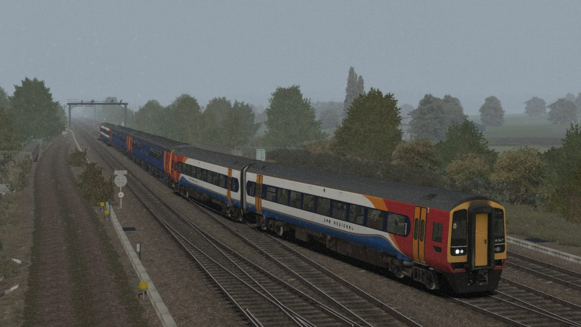 1L12 13:51 Liverpool Lime Street to Peterborough