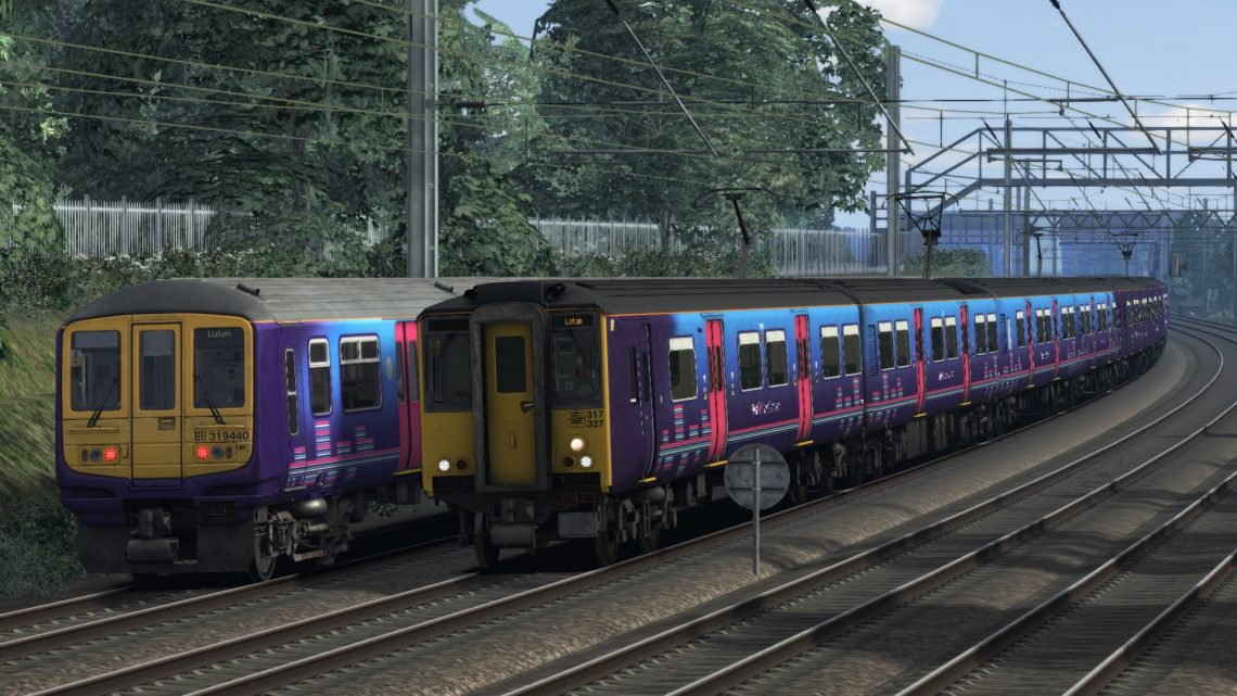 2H31 17:14 Moorgate to Luton