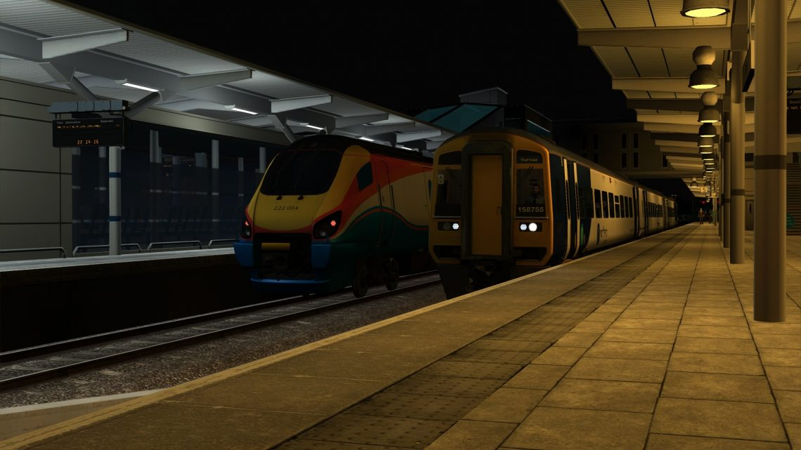 1Y36 22:15 Nottingham to Sheffield