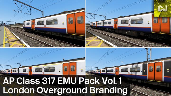 AP Class 317 London Overground Branding Patch