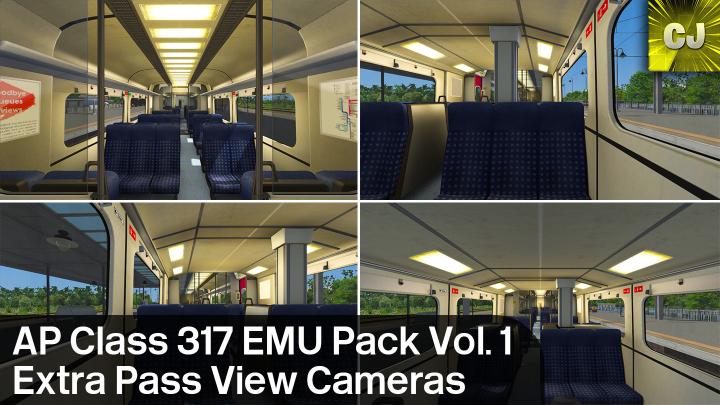 AP Class 317 Extra Passenger View Cameras