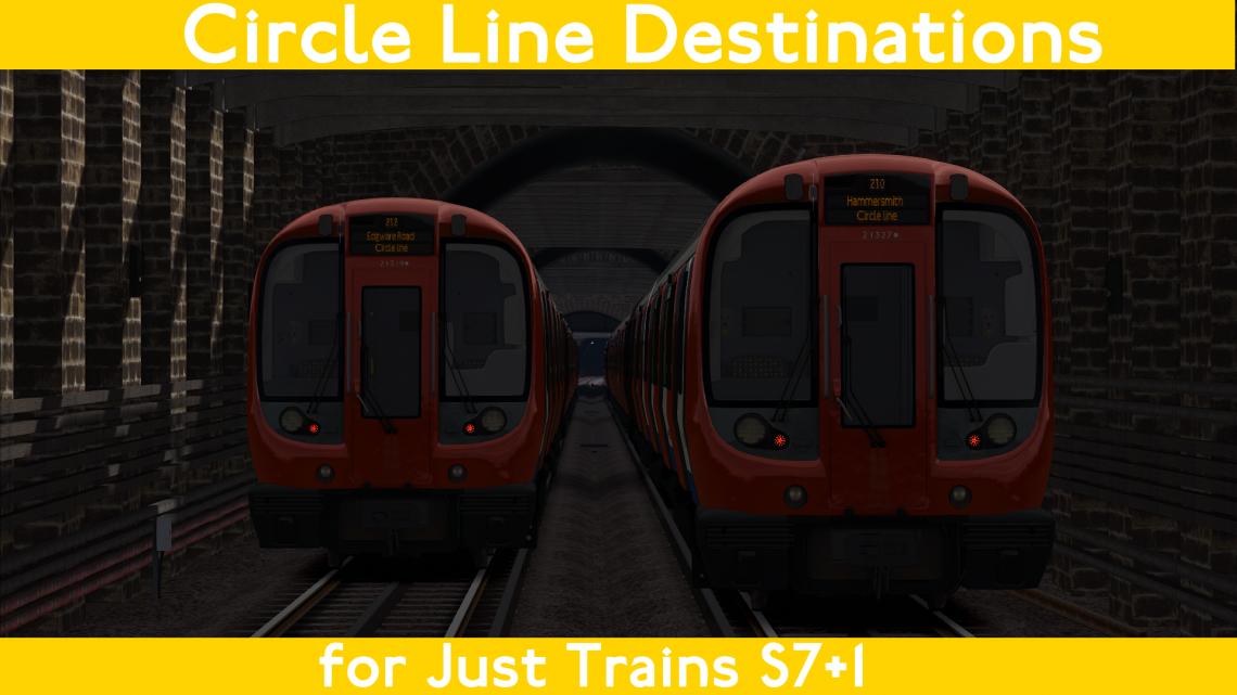 Circle Line S7 Destinations