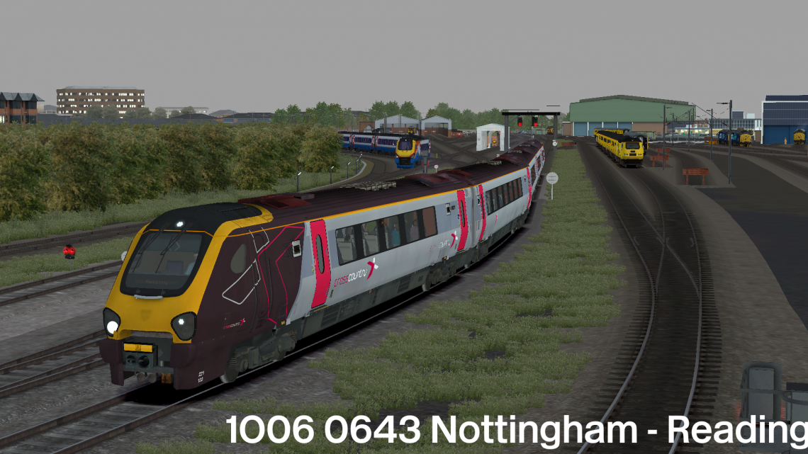 1O06 0643 Nottingham – Reading
