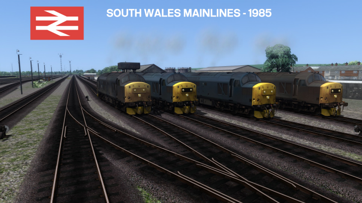 South Wales Mainlines – 1985
