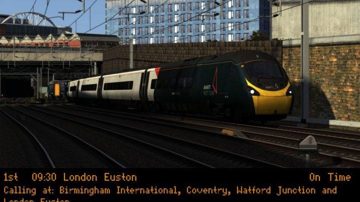 (wg) 1B35 0930 Birmingham New Street – London Euston
