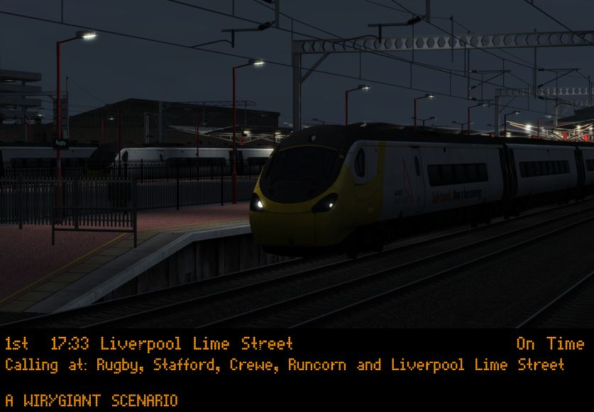 (wg) 1F23 1733 London Euston – Liverpool Lime Street (Full Journey)