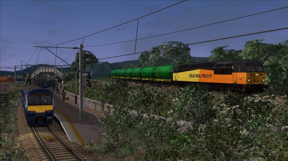 6N56 Fort William to Grangemouth