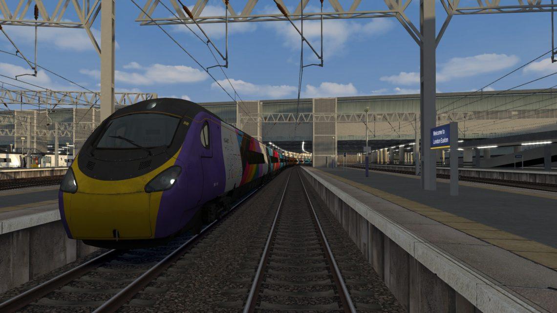 9G58 2003 London Euston – Birmingham New Street – Class 390 V2