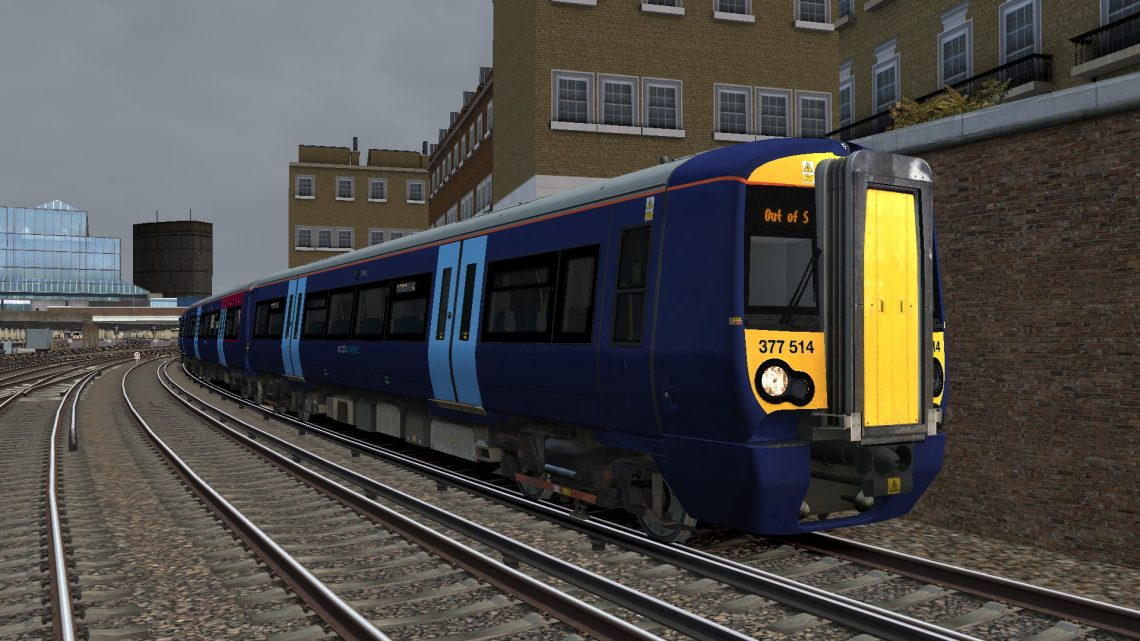 5Y51 1231 London Victoria to Selhurst TMD