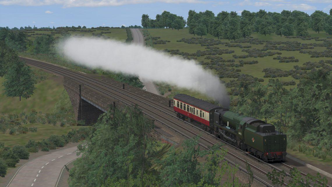 5Z48 Swanage – Southall WCR