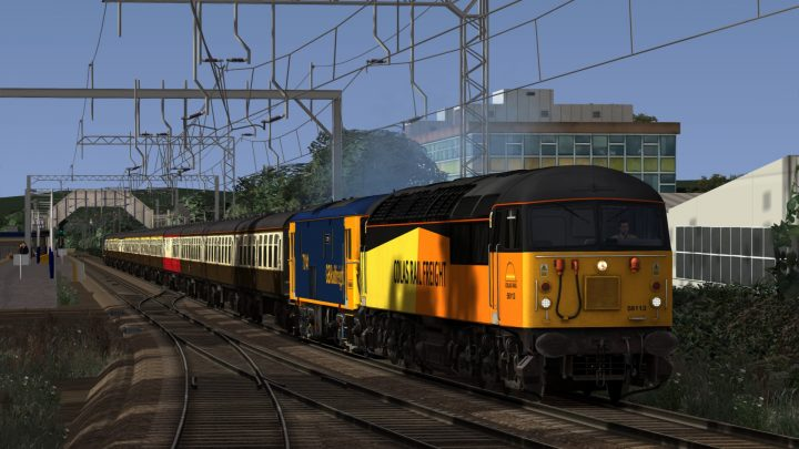 """1Z30 05.33 Mossend Down Yard – Fort William """"Out of the Ordinary"""" (2018)"""